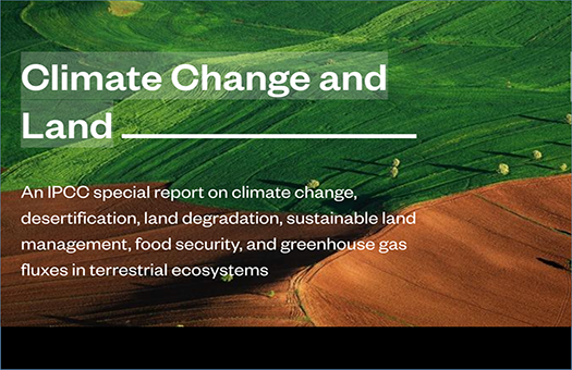 Climate Change and Land: An IPCC special report